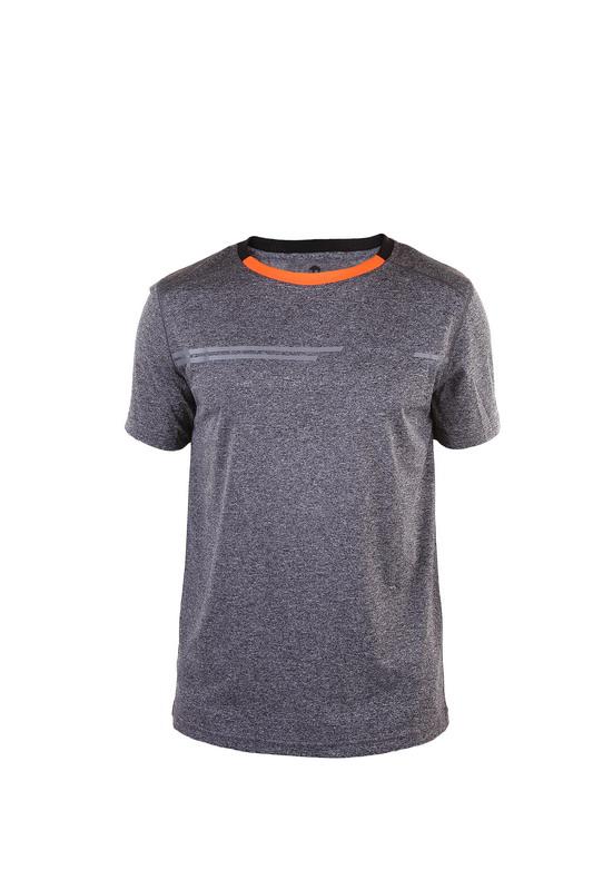 camiseta deportiva chico con detalles reflectantes manga corta