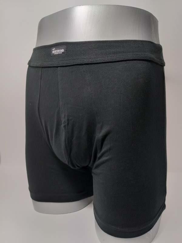boxer pata larga abanderado color negro
