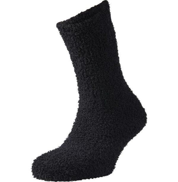 calcetín franela hombre color negro