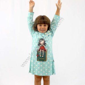 Pijamas niña manga larga