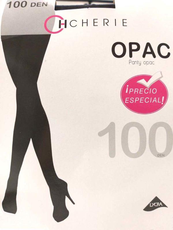 panty opaco de 100 deniers de lycra grueso