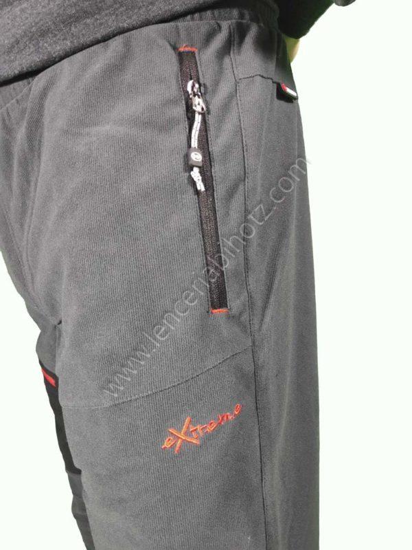 pantalon micropana hombre con bolsillo de cremallera lateral