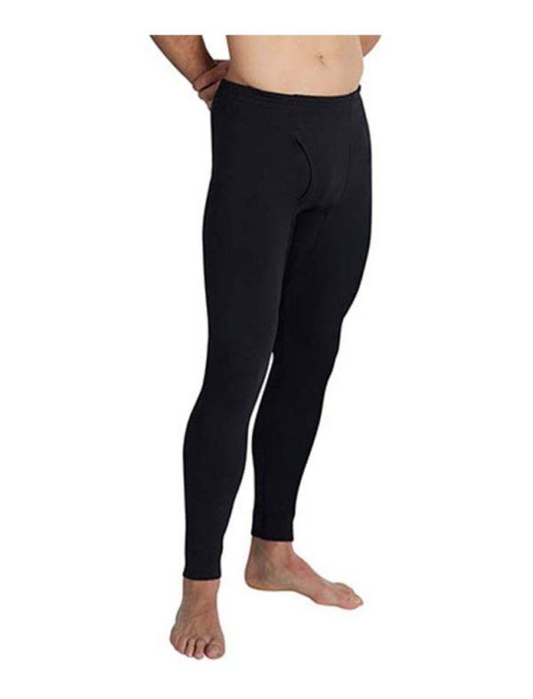 pantalon termica caballero negro