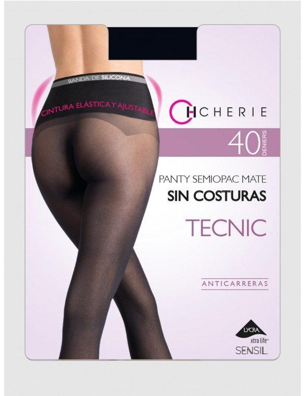 Panty Sin Costuras Anticarreras Silicona Cintura Confort