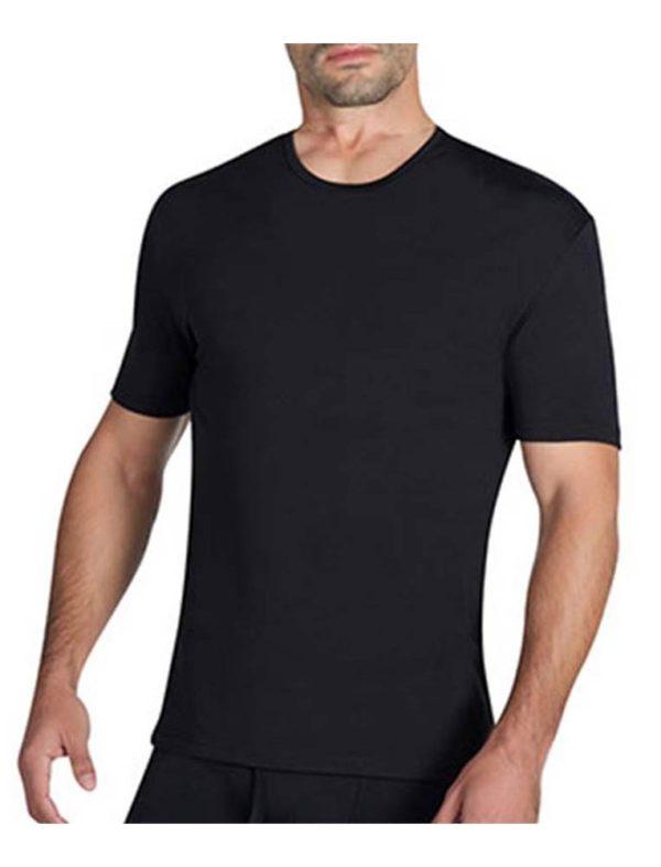 camiseta manga corta termica caballero