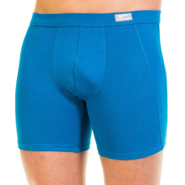 boxer abanderado azul pierna extralarga lenceriabihotz