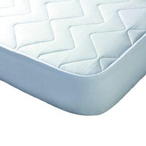 protector reversible 100% algodón blanco lenceriabihotz