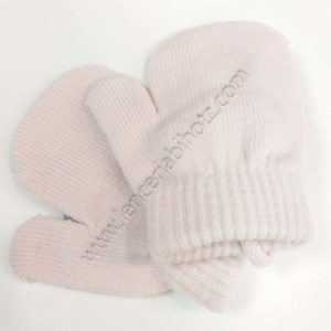 manopla bebe rosa pastel