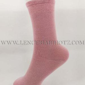 calcetln algodon rosa