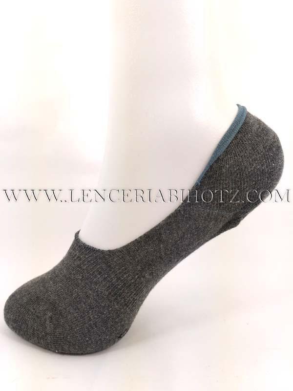 pinki algodon cerrado deportivo gris marengo talonera silicona
