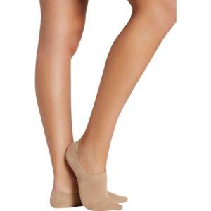 pinki de mujer color piel invisible con silicona en el talon