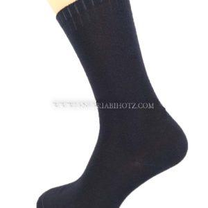 calcetin hombre pack 2 moda y algodon extra suave negro puño no aprieta