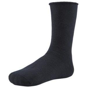 calcetin termico mujer negro sin puño