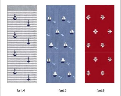 tobilleros marineros gris azul y rojo