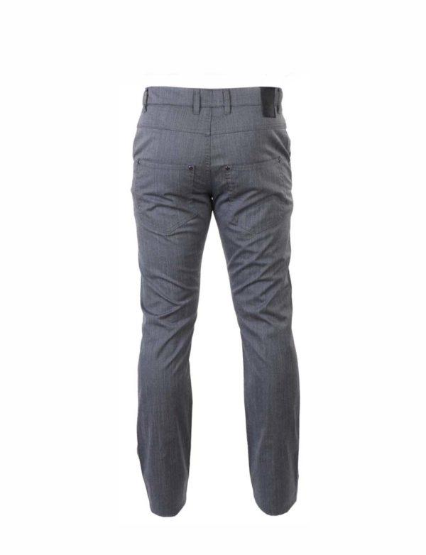 Pantalón caballero loneta fina bolsillos traseros