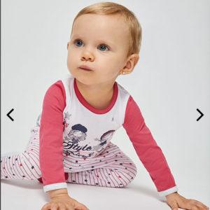 Pijama bebé manga larga ALGODÓN