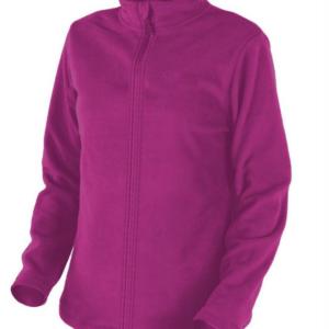 chaqueta polar de señora de color fuxia